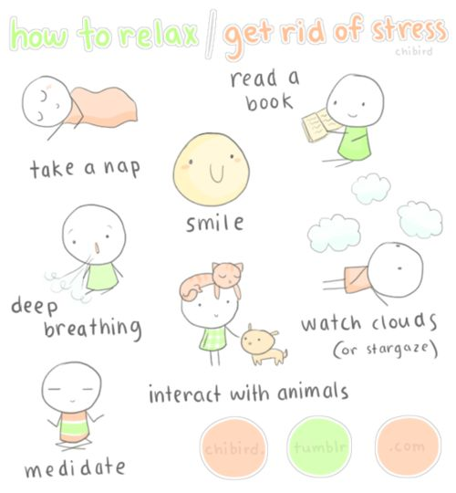 how to get rid of stress tics