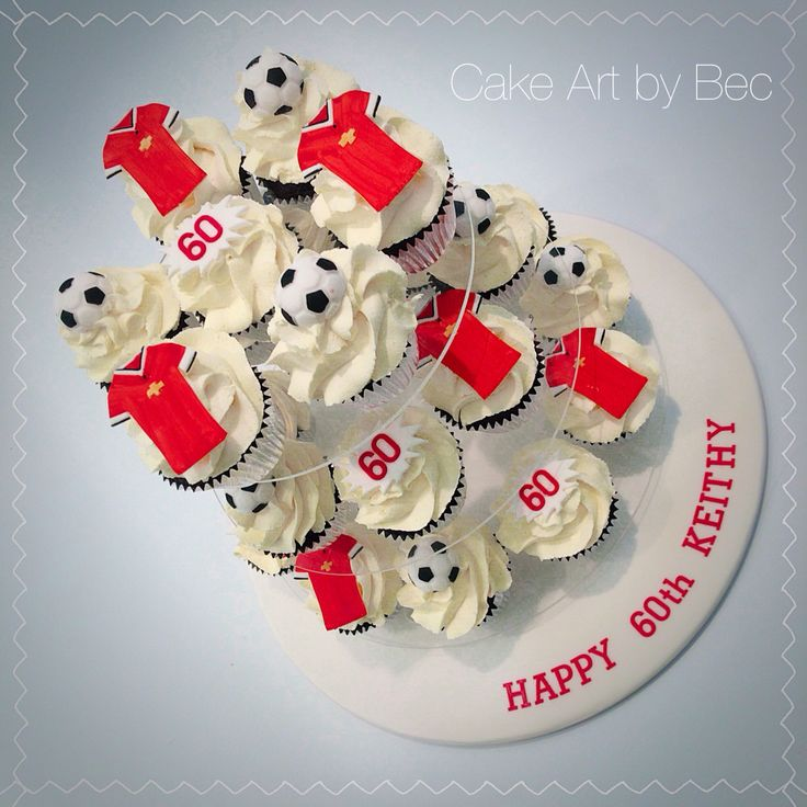 Cake Art By Bec : 27 best Manchester United party images on Pinterest Man ...