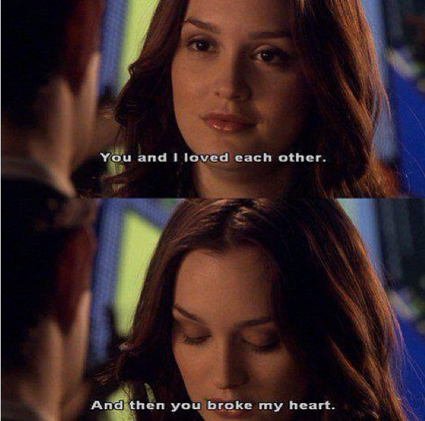 Resultado de imagen para chuck and blair you and i loved each other