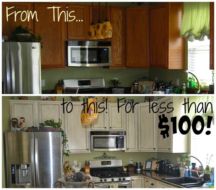 White Glazed Cabinet Transformations A Review a Year Later ~ Thrifty