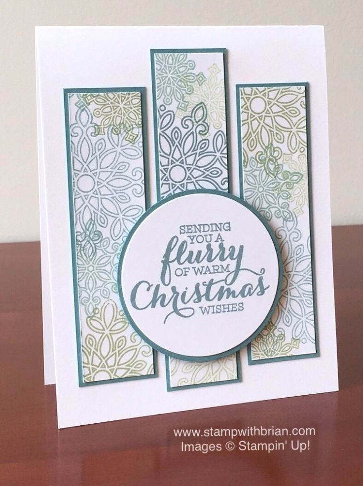 Flurry of Wishes, Stampin' Up!, Brian King