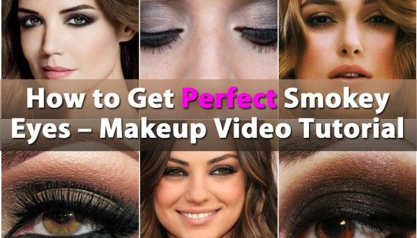 How to Get Perfect Smokey Eyes - Makeup Video Tutorial