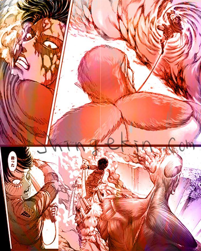 Levi vs Beast and Eren vs Colossal 進撃の巨人 リヴァイ vs 獣の巨人 エレン vs 超大型巨人 http://shingekin.com