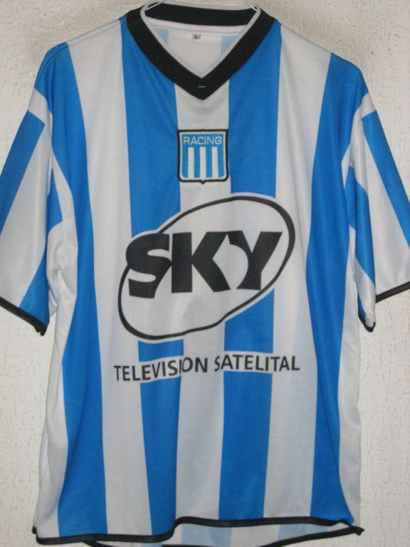 Racing Club Home football shirt 2001  6b9c7c13026
