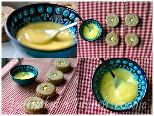 Homemade Nutella & Passion fruit Curd