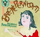 Riproduzione (a cura dei ragazzi della Scuola Media Boccardo di Novi Ligure) di una confezione di torrone Pernigotti.