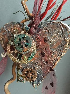 Tando Creative: Love And Hearts Steampunk style By Dee