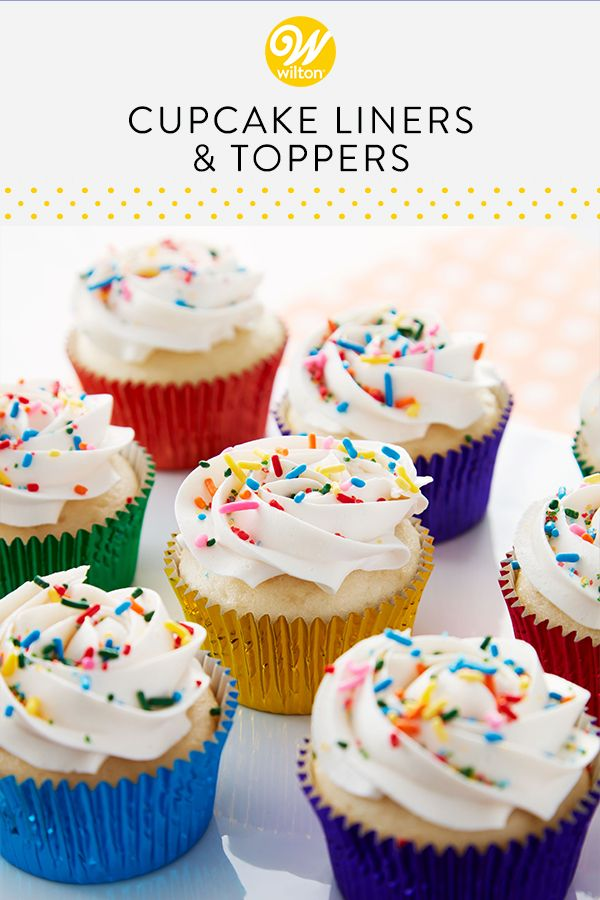 Wilton Has The Best Cupcake Liners And Wrappers To Help Perfect