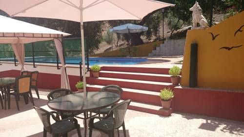 Casas Rurales Balc�n de M�gina Cabritas Huelma Offering a seasonal outdoor pool and terrace, Casas Rurales Balc?n de M?gina is set in Huelma. Cazorla is 42 km from the property. Free private parking is available on site.  The pet-friendly accommodation is air conditioned and features a TV.