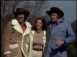 Tony Orlando, June Carter Cash and Johnny Cash at Johnny and June  home