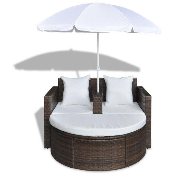 Garden Furniture Bed best 20+ rattan garden furniture ideas on pinterest | garden fairy