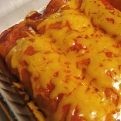 Chicken and Cheese Enchilada Recipe