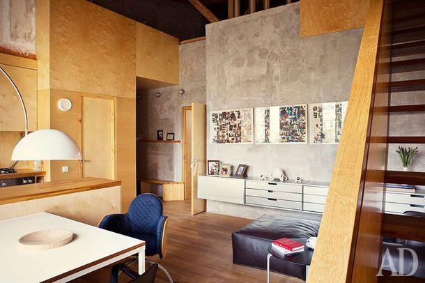 Двухэтажная студия на Спиридоновке