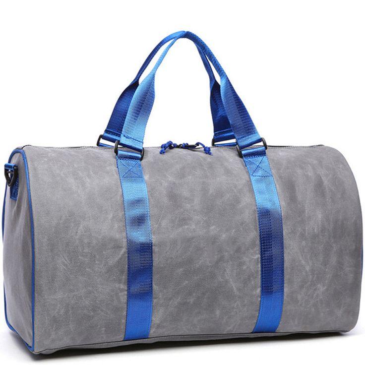 2017 Vintage Design Canvas Bucket Travel Duffle Bag Men Large Capacity Luggage Tote Bags Women Waterproof Weekend Travelbag