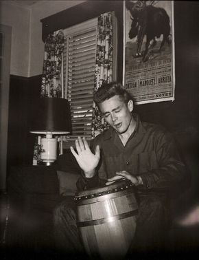One of his favorite hobbies was playing the bongos.   16 Things You Might Not Know About James Dean
