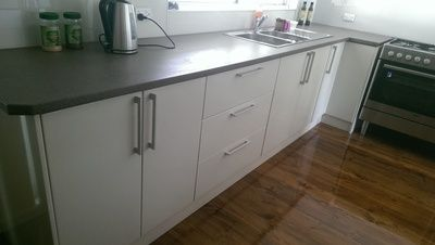 Benchtops no joins & Polyurethane Doors all in any colour http://www.ispsinnovations.com.au/culourtek-benchtops-and--polyurethane-doors.html #kitchen