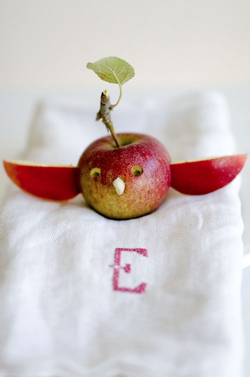 Healthy Snacks for Kids: Make Little Bird Apples | willowday