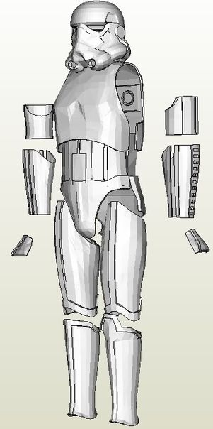 Storm Trooper Mask Diy