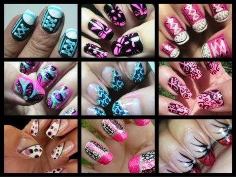 111 best nail art video tutorials images on pinterest crafting nail art slide show 2012 year in review diy nails nail designs summer prinsesfo Image collections