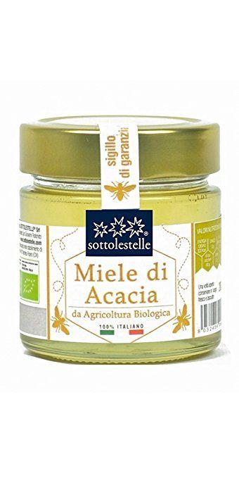 Sottolestelle Miele di Acacia Italiano - 6 confezioni da 280gr - Totale  1.68 kg