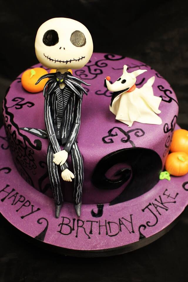 Nightmare Before Christmas Cake Jack Skellington