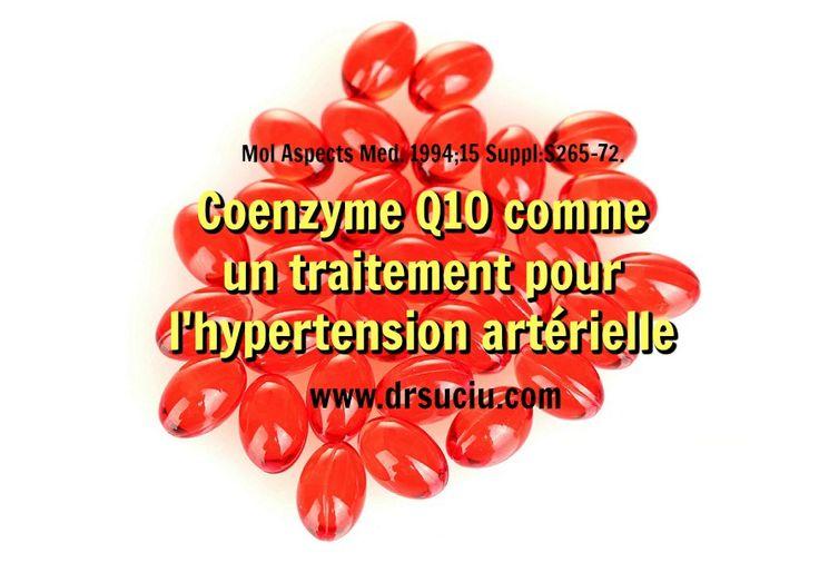 La Coenzyme Q10 et l'hypertension artérielle