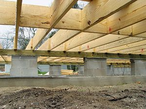 620 best images about bump out addition for house on for Pier and beam home plans