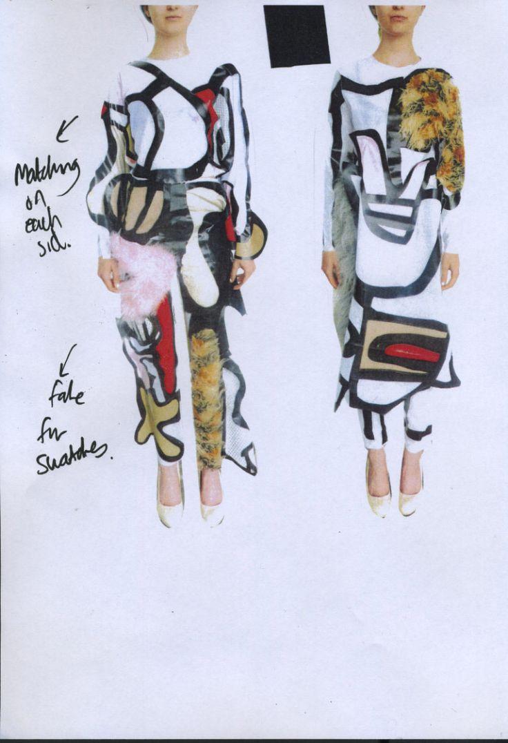 The New MA Graduates: Beth Postle  #csm #centralsaintmartins #magraduates #1granary #designs #fashion