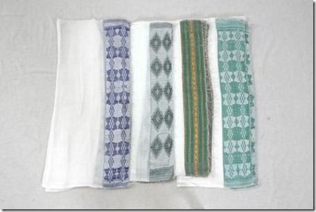 Ethiopian netela, potential textiles to choose patterns for packaging