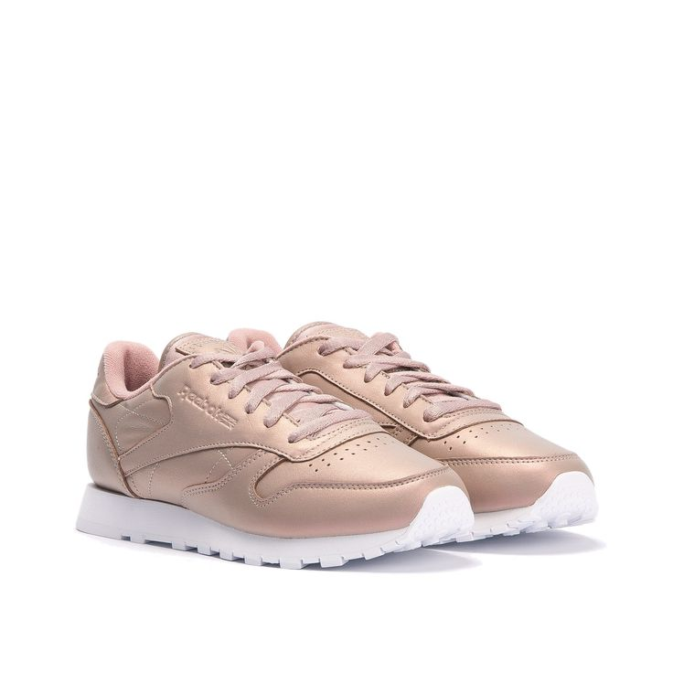 ac7631cb96d83 ... Rose Gold Reeboks · Pink SneakersGold StyleClassic LeatherBlush ...  Женские кроссовки Reebok Classic Leather Pearlized ...