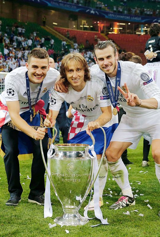 Image result for luka modric champions league trophy