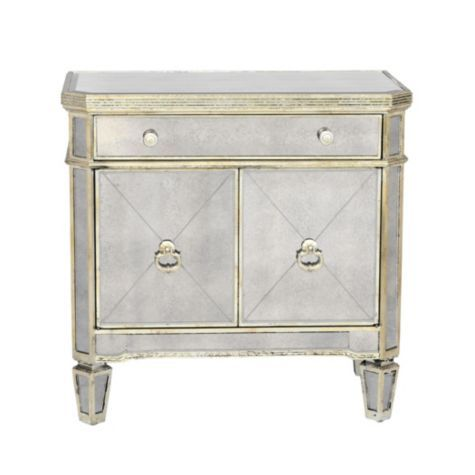 Borghese Mirrored Side Chest from Z Gallerie.  So want this for my bedroom nightstand!