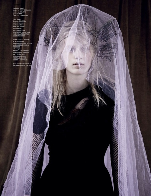 ☫ A Veiled Tale ☫ wedding, artistic and couture veil inspiration - lavender #baroque