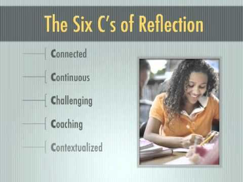 Reflection asks participants to think deeply about complex community problems and alternative solutions. Critical Reflection: The Learning in Service-Learning - YouTube