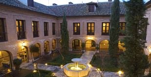 Stayed here. Parador Chinchon, Spain
