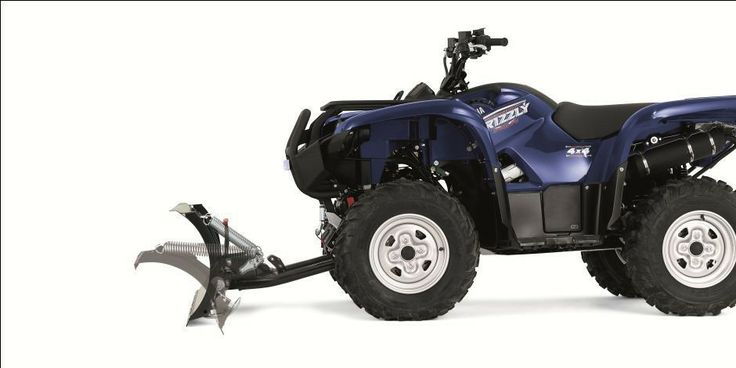 There are a variety of WARN Snow Plow Systems available on the market for a host of ATVs.