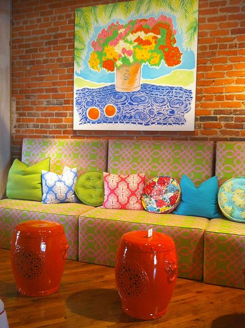 17 Best images about Orange Coral Peach Tangerine Rooms