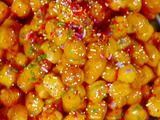 Picture of Honey Drenched Christmas Fritters: Struffoli Recipe