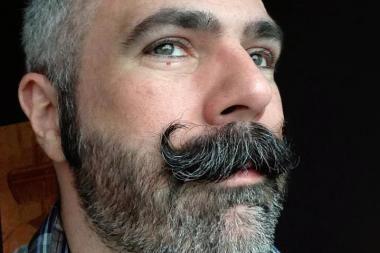 90 best handlebar images on pinterest beards beautiful and boyfriends. Black Bedroom Furniture Sets. Home Design Ideas