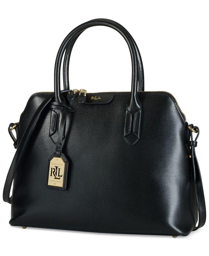 Lauren Ralph Lauren Tate Dome Satchel - Designer Handbags - Handbags & Accessories - Macy's