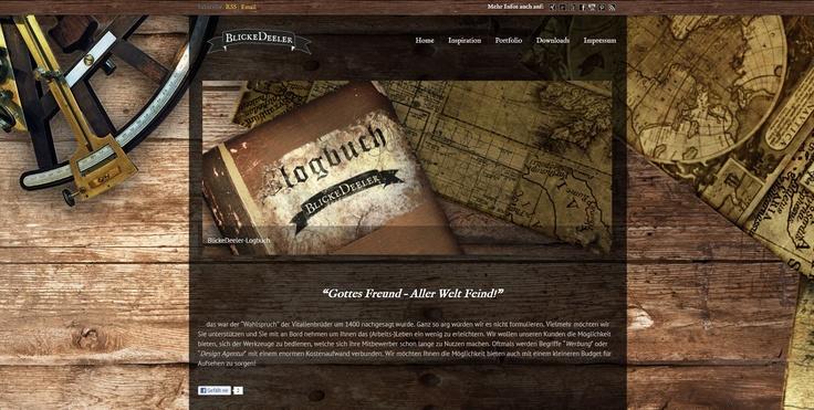 Unser (B)logbuch versorgt Sie mit aktuellen News aus Werbung und Marketing und bietet Ihnen neben diversen Downloads auch Tipps und Anregungen zu verschiedenen Gestaltungsfragen  www.BlickeDeeler-Logbuch.de