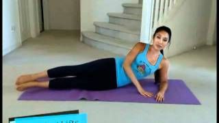 POP Pilates: Muffin Top Meltdown, via YouTube.