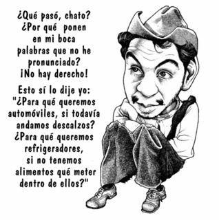 Cantinflas, Me encantan todas sus películas