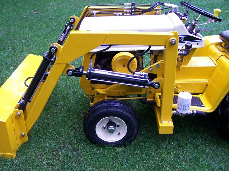 Garden Tractor Forks : Best homemade tractors images on pinterest welding