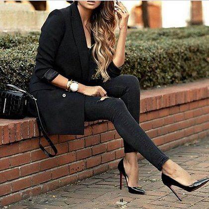 15 ιδέες για να φορέσετε τα σέξυ τζην κομμάτια σας αύριο #StreetStyle | μοδα , street style | ELLE