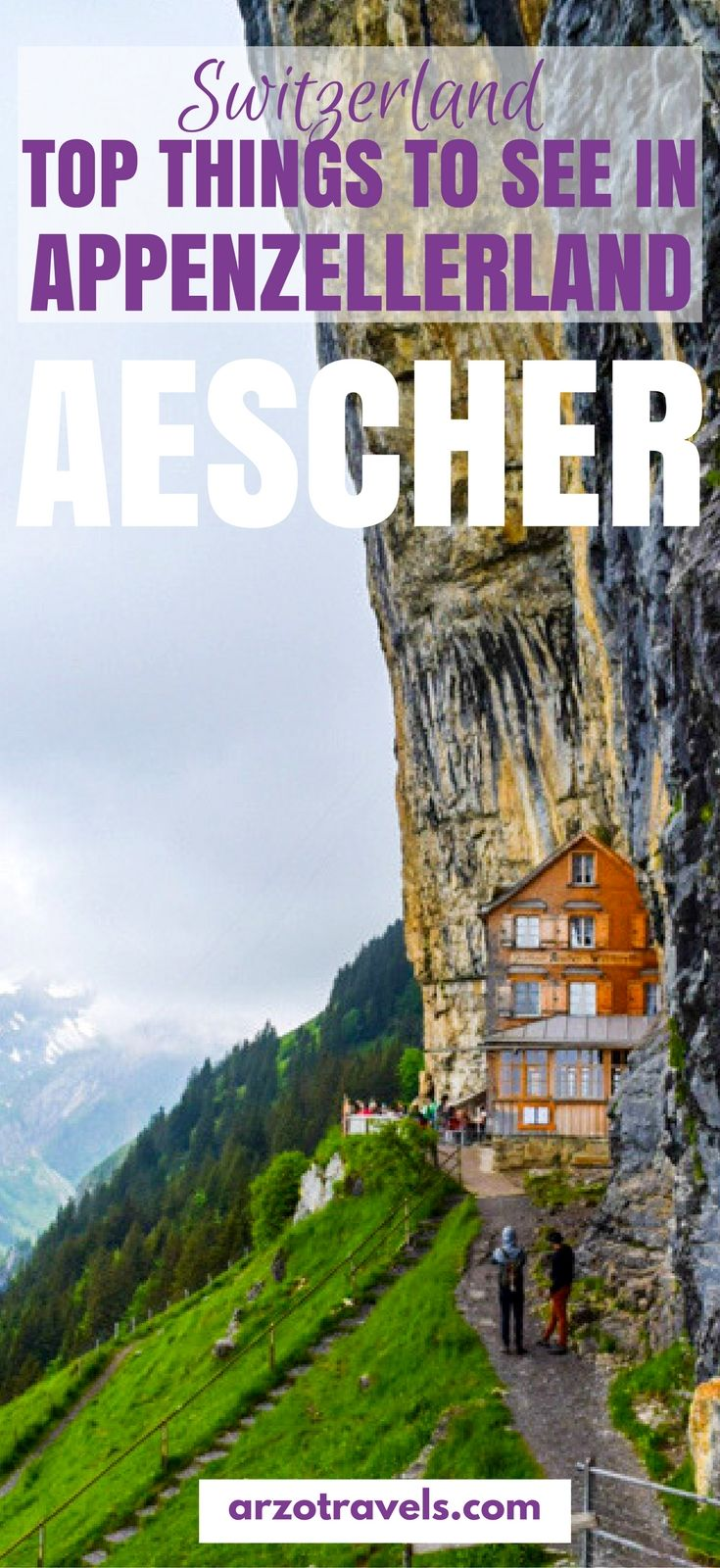 The Aescher is one highlight but not the only must-see place in Appenzellerland. Find out what else to see and what to din Appenzell and Appenzellerland in 24 hours. #Appenzell #ebenalp #schweiz