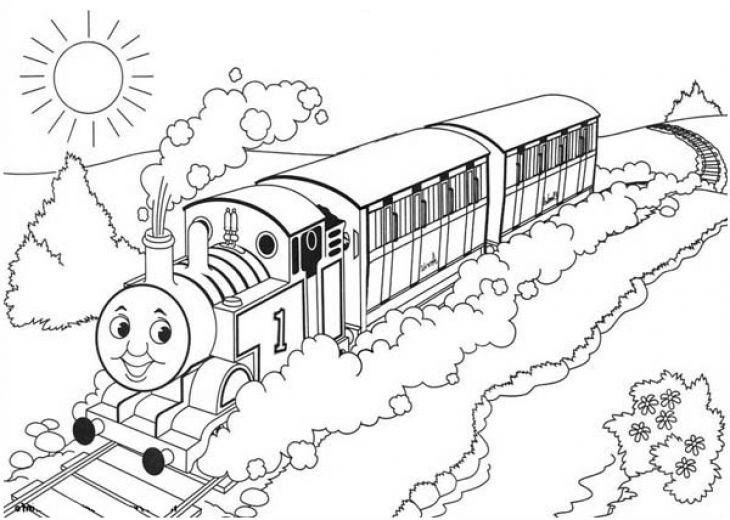 thomas friends coloring page free to print - Thomas Friends Coloring Pages