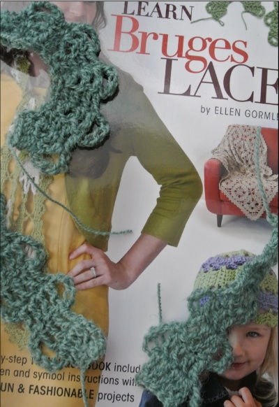 learn bruges lace #crochet