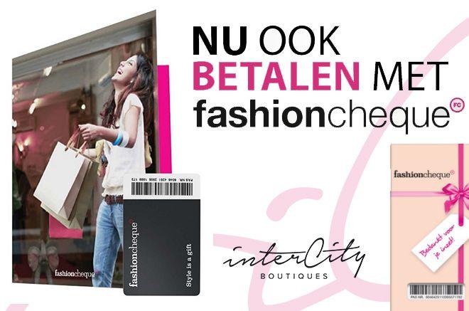 online betalen met fashioncheque