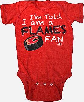 "Old Time Hockey Calgary Flames ""Lemming"" Team Creeper - Shop.NHL.com"
